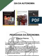 Paulo Freire Autonomia - Livro