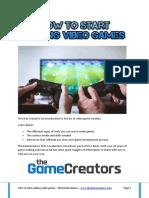 Principios para hacer un videojuego