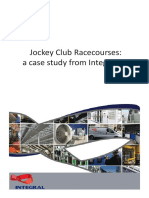 Integral Case Study - the Jockey Club Racecourses