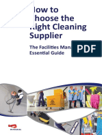 How to Choose the Right Cleaning Supplier eBook (Integral UK)