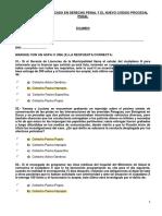 3 EXAMEN Diplomado Derecho Penal y El NCPP