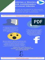 Feed de notícias e Stories do Facebook combinados em um carrossel híbrido