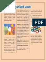 folleto seguridad social