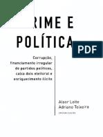Crime e Política - Leite Teixeira