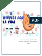Proyecto 5 Minutos Por La Vida - psicología de la salud