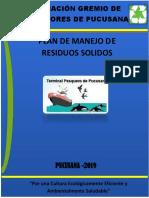 Plan de Manejo de Residuos Solidos -Gremio Pesquero2