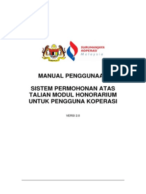 Manual Pengguna Honorarium Pdf