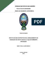 EFECTO DE SEIS SUSTRATOS EN EL ENRAIZAMIENTO DE ESQUEJES DE SAUCO .pdf
