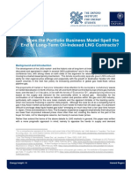 Does the Portfolio Business Model Spell the End of Long Term Oil Indexed LNG Contracts OIES Energy Insight