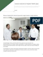 09-04-2019 - Supervisa director de Isssteson atención en Hospital Adolfo López Mateos - Elsoldehermosillo.com.mx
