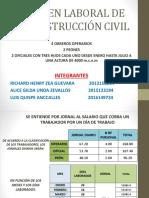 Régimen Laboral de La Construcción Civil