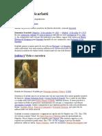 Algumas pesquisas sobre Domenico Scarlatti