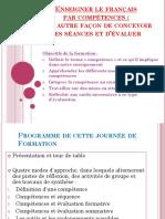Enseigner Le Francais Par Competences