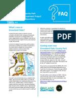 Groveland Oaks Campground Improvement Project FAQ