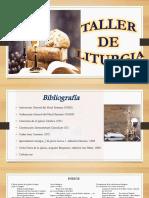 Taller de Liturgia Diapositivas Power Point