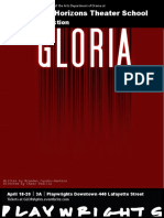 Gloria Poster Draft 1
