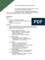 Analisis Del Micro y Macroentorno de La Cerveceria Bavaria s