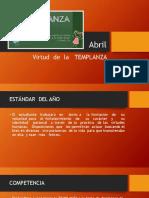 Templanza - Plan de Formación