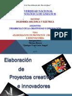 Elaboracion de Proyectos Creativos e Innovadores