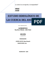 Informe Hidrologia Cuenca Cunas