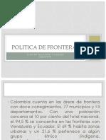 Politica de Fronteras