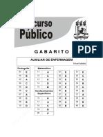 GABARITO UFPE