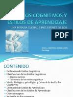 Estilos Cognitivos y Estilos de Aprendizaje[1]