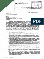 Ley de reforma constitucional que modifica el artículo 34 de la Constitución sobre impedimentos para ser candidato