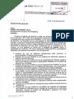 Ley de Reforma Constitucional que modifica el artículo 93 de la Constitución sobre inmunidad parlamentaria