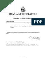 Maine 129 - HP 213 Item 1