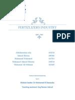 fertizlizers industry.docx