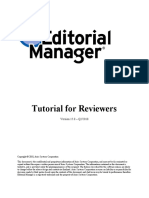 Tutorial - Reviewer - English - Editorial Manager