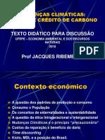 Mudanças Climáticas - Economia Ambiental