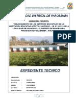 Memoria Descriptiva Institucion Educativa