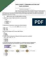 Guia de Matematica, Unidad 1.1 Cuarto Basico,