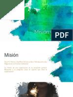 Misión Visión Completo