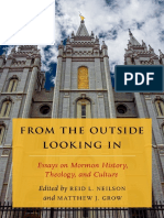 From the outside looking in _ essays on Mormon history, theology, and culture _ the tanner lectures on Mormon history ( PDFDrive.com ).pdf