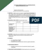 Plan de Trabajo Para Sensibilización en La Segregación de Residuos Sólidos en La Utp
