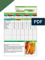 Receta Nutrimental ejemplo