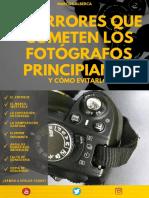 21 ERRORES FOTOGRAFÍA
