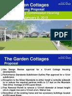 Cottage Housing Proposal - City of Ashland