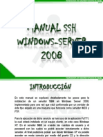 Manual Ssh Windows Server 2008 La Red 38110