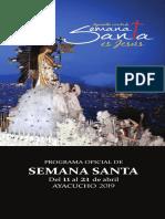 Programa Semana Santa Ayacucho