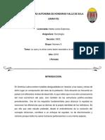 Informe Sociologia Grupo #4... UNAH-Vs