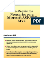 2. Pre-Requisitos MVC