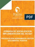 Presentación Capacitacion - Implementación SGSST