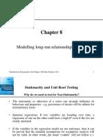 Modelling Long-run Relationship in Finance