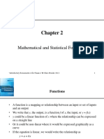 Mathematical and Statistical Foundations