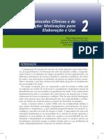 Motivação Para Elaboração de Protocolos Clínicos e Regulatórios