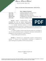 DIREITO CONSTITUCIONAL. RECURSO EXTRAORDINÁRIO PROIBIÇÃO DO USO DE CARROS PARTICULARES PARA O TRANSPORTE REMUNERADO INDIVIDUAL DE PESSOAS. PRESENÇA DE REPERCUSSÃO GERAL.